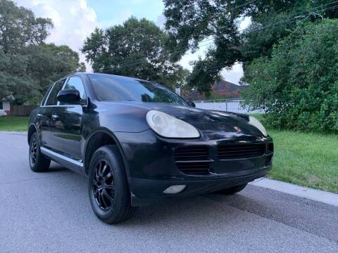 2005 Porsche Cayenne for sale at Out Run Automotive Sales and Service Inc in Tampa FL