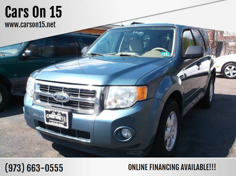 2011 Ford Escape for sale at Cars On 15 in Lake Hopatcong NJ