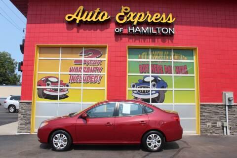 2010 Hyundai Elantra for sale at AUTO EXPRESS OF HAMILTON LLC in Hamilton OH