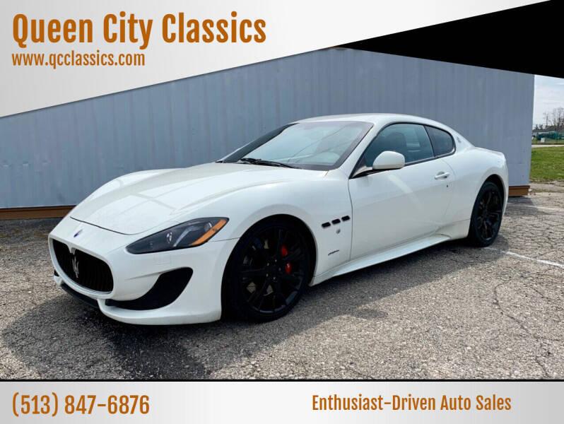 2014 Maserati GranTurismo for sale at Queen City Classics in West Chester OH