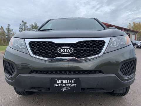 2013 Kia Sorento for sale at Autobahn Sales And Service LLC in Hermantown MN