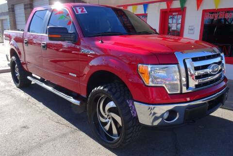 2012 Ford F-150 for sale at VISTA AUTO SALES in Longmont CO