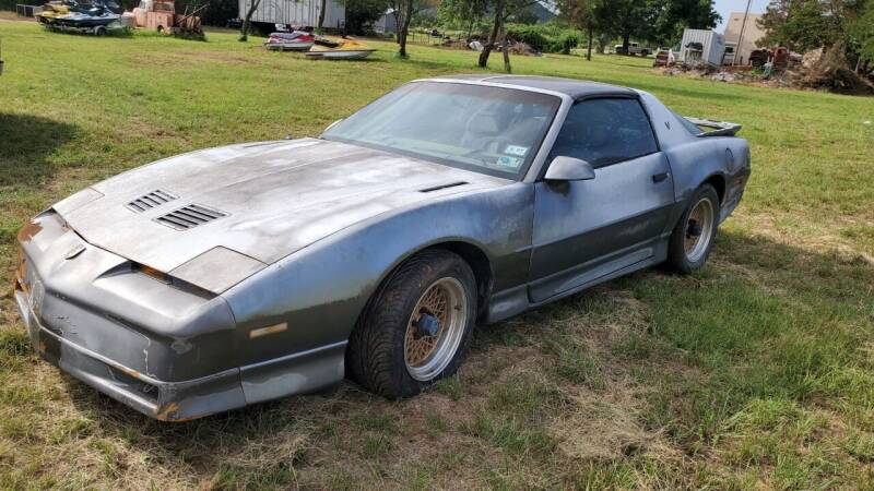 1988 Pontiac Firebird for sale at CLASSIC MOTOR SPORTS in Winters TX