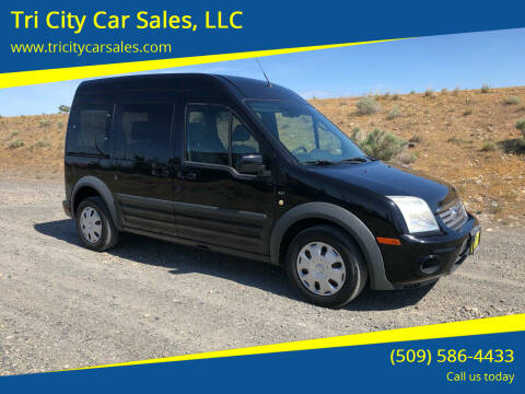 2012 Ford Transit Connect for sale at Tri City Car Sales, LLC in Kennewick WA