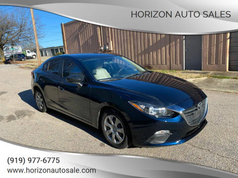 2014 Mazda MAZDA3 for sale at Horizon Auto Sales in Raleigh NC