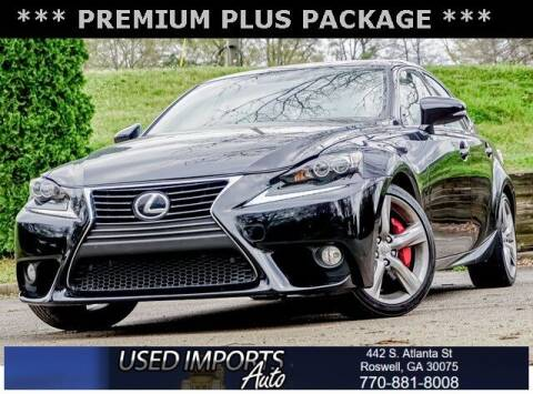 2014 Lexus IS 350 for sale at Used Imports Auto in Roswell GA
