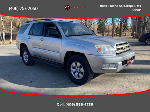 2004 Toyota 4Runner for sale at Auto Solutions in Kalispell MT