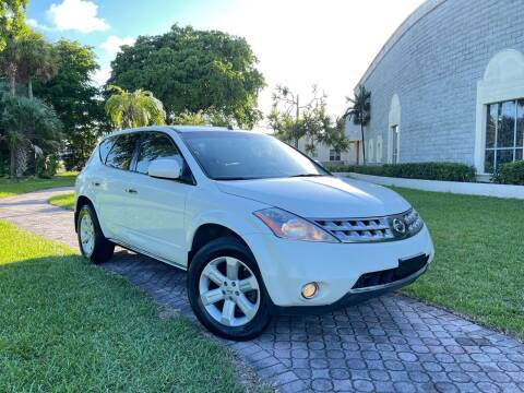 2007 Nissan Murano for sale at Citywide Auto Group LLC in Pompano Beach FL