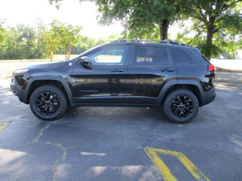 2014 Jeep Cherokee for sale at A & P Automotive in Montgomery AL