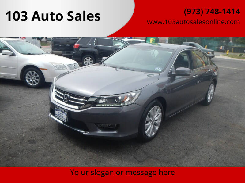 2013 Honda Accord for sale at 103 Auto Sales in Bloomfield NJ