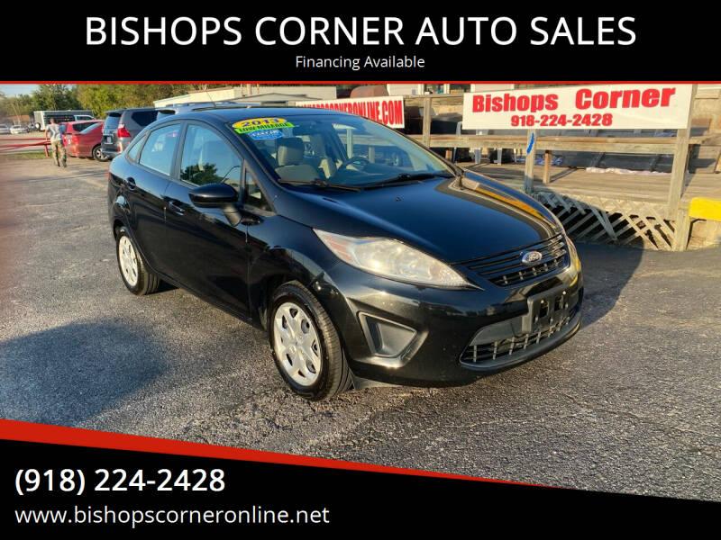 2013 Ford Fiesta for sale at BISHOPS CORNER AUTO SALES in Sapulpa OK