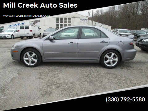 2008 Mazda MAZDA6 for sale at Mill Creek Auto Sales in Youngstown OH