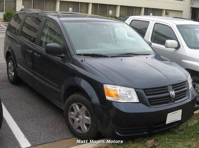 2008 Dodge Grand Caravan for sale at Matt Hagen Motors in Newport NC