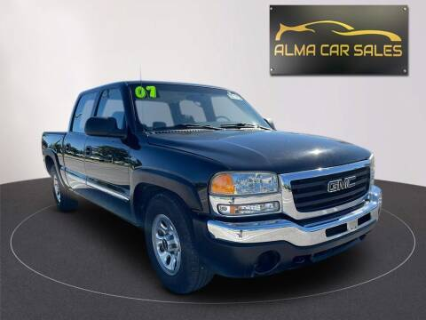 2007 GMC Sierra 1500 Classic for sale at Alma Car Sales in Miami FL