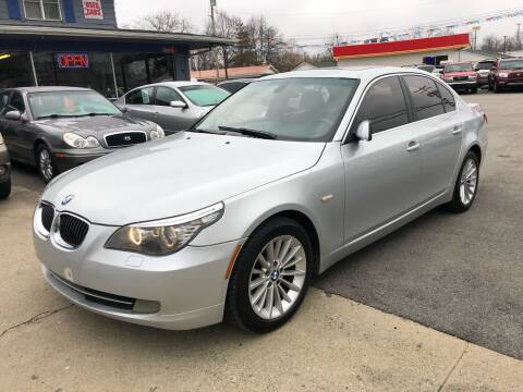 2008 BMW 5 Series for sale at Wise Investments Auto Sales in Sellersburg IN