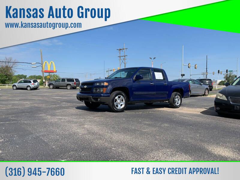 2012 Chevrolet Colorado for sale at Kansas Auto Group in Wichita KS