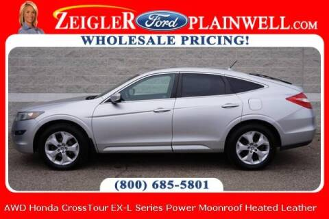 2010 Honda Accord Crosstour for sale at Zeigler Ford of Plainwell- michael davis in Plainwell MI