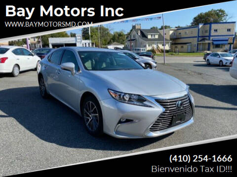 2017 Lexus ES 350 for sale at Bay Motors Inc in Baltimore MD