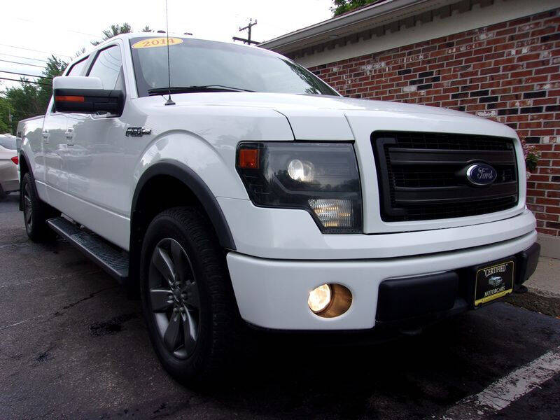 2014 Ford F-150 for sale at Certified Motorcars LLC in Franklin NH