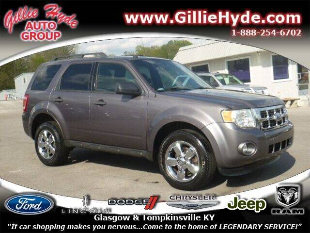 2012 Ford Escape for sale at Gillie Hyde Auto Group in Glasgow KY