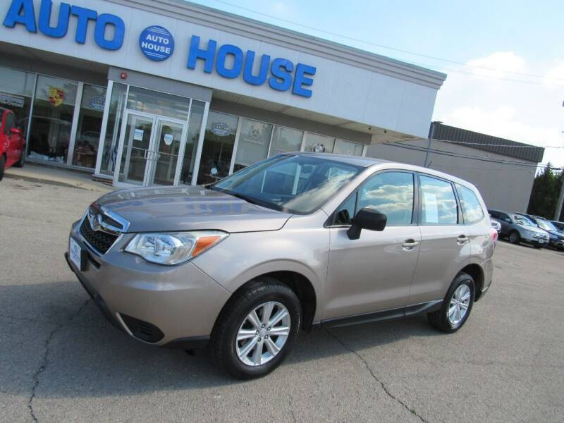 2014 Subaru Forester for sale at Auto House Motors in Downers Grove IL