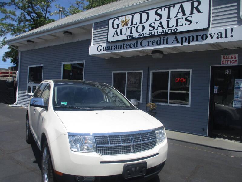 2008 Lincoln MKX for sale at Gold Star Auto Sales in Johnston RI