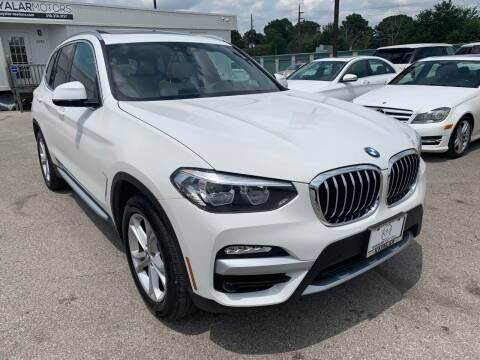 2019 BMW X3 for sale at KAYALAR MOTORS in Houston TX