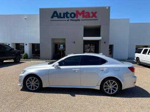 2013 Lexus IS 250 for sale at AutoMax of Memphis - Alex Vivas in Memphis TN