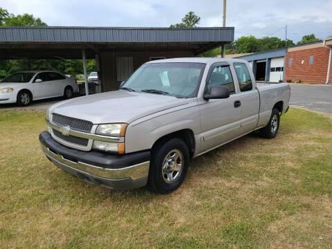 2004 Chevrolet Silverado 1500 for sale at Mott's Inc Auto in Live Oak FL