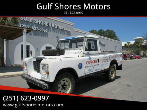 1978 Land Rover Santana for sale at Gulf Shores Motors in Gulf Shores AL