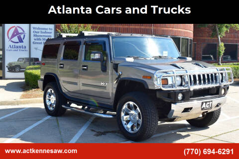 2008 HUMMER H2 for sale at Atlanta Cars and Trucks in Kennesaw GA