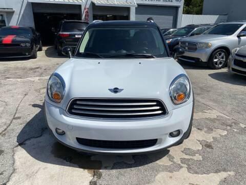 2012 MINI Cooper Countryman for sale at America Auto Wholesale Inc in Miami FL