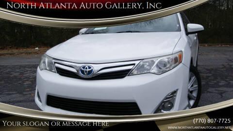 2013 Toyota Camry Hybrid for sale at North Atlanta Auto Gallery, Inc in Alpharetta GA