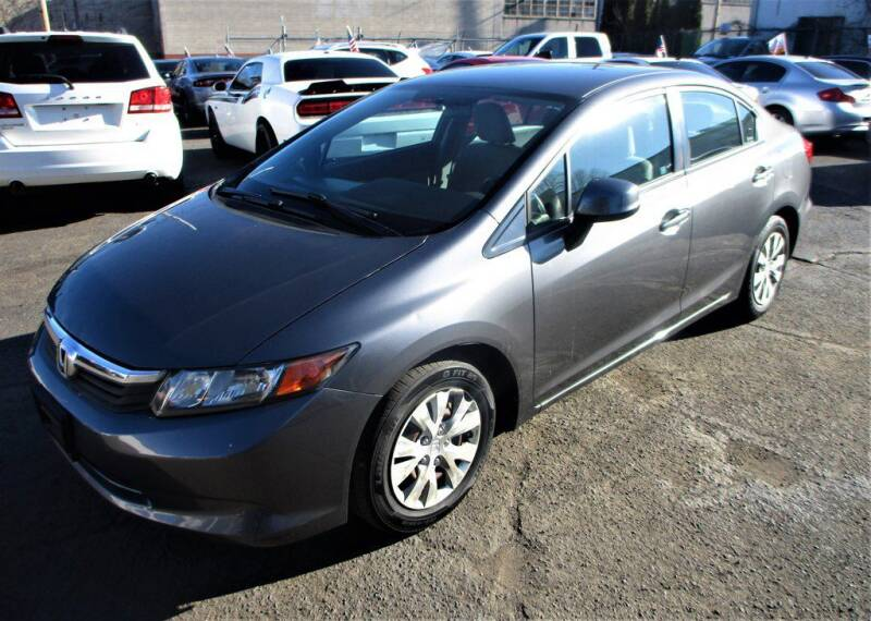 2012 Honda Civic for sale at Exem United in Plainfield NJ