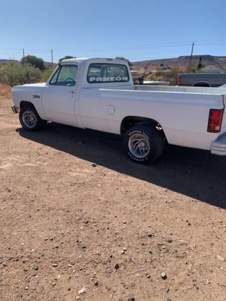 1988 Dodge RAM 150 for sale at Poor Boyz Auto Sales in Kingman AZ