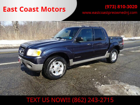 2001 Ford Explorer Sport Trac for sale at East Coast Motors in Lake Hopatcong NJ