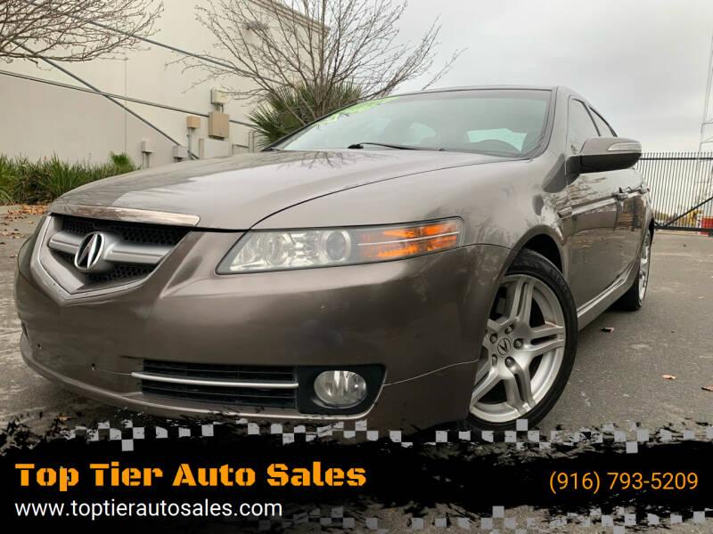 2007 Acura TL for sale at Top Tier Auto Sales in Sacramento CA