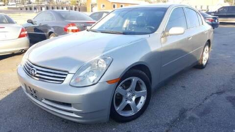 2003 Infiniti G35 for sale at GA Auto IMPORTS  LLC in Buford GA