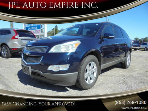 2011 Chevrolet Traverse for sale at JPL AUTO EMPIRE INC. in Auburndale FL