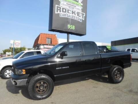 2005 Dodge Ram Pickup 2500 for sale at Rocket Car sales in Covina CA