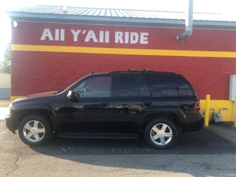 2008 Chevrolet TrailBlazer for sale at Big Daddy's Auto in Winston-Salem NC