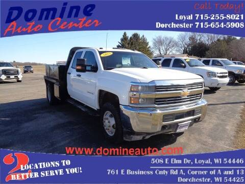 2015 Chevrolet Silverado 3500HD CC for sale at Domine Auto Center - commercial vehicles in Loyal WI