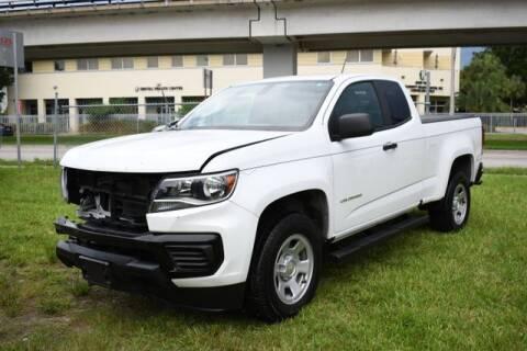 2021 Chevrolet Colorado for sale at ELITE MOTOR CARS OF MIAMI in Miami FL
