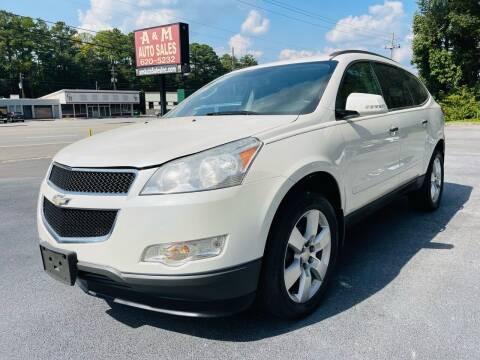 2012 Chevrolet Traverse for sale at A & M Auto Sales, Inc in Alabaster AL