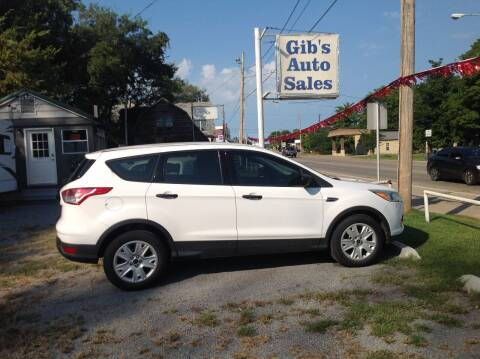 2014 Ford Escape for sale at GIB'S AUTO SALES in Tahlequah OK