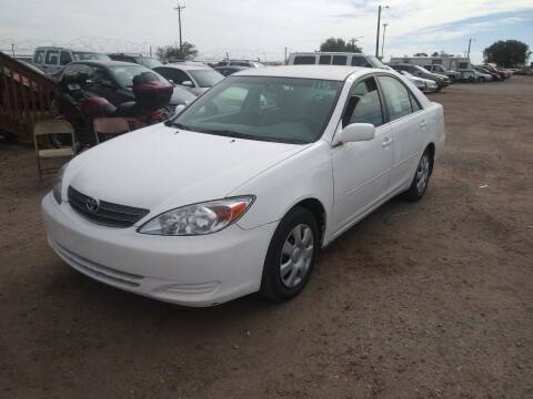 2002 Toyota Camry for sale at PYRAMID MOTORS in Pueblo CO