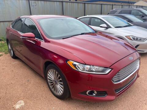 2014 Ford Fusion for sale at Street Smart Auto Brokers in Colorado Springs CO