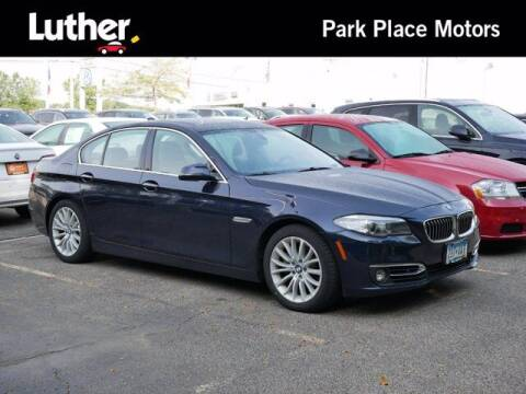2014 BMW 5 Series for sale at Park Place Motor Cars in Rochester MN