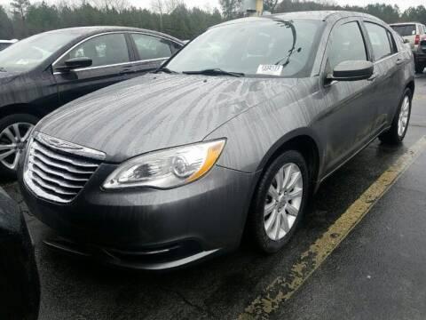 2012 Chrysler 200 for sale at DREWS AUTO SALES INTERNATIONAL BROKERAGE in Atlanta GA