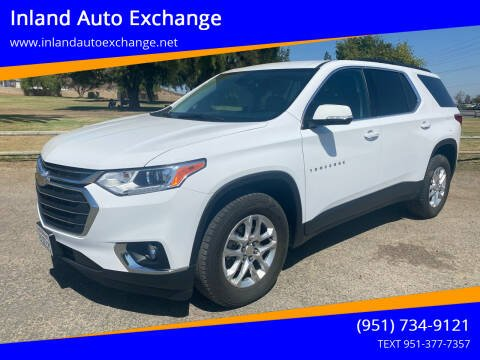 2020 Chevrolet Traverse for sale at Inland Auto Exchange in Norco CA
